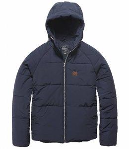 Vintage Industries Gray coat winterjas night sky