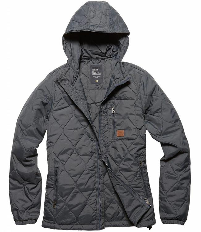 Vintage Industries Lilestone jacket winterjas raf blue