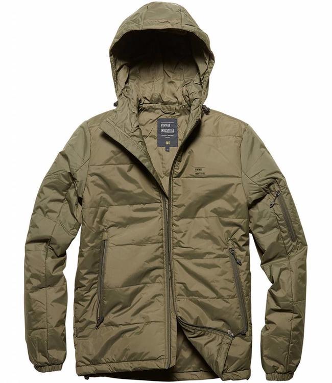Vintage Industries Newcourt jacket winterjas olive