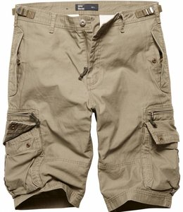 Vintage Industries Gandor Shorts Korte broek Olive