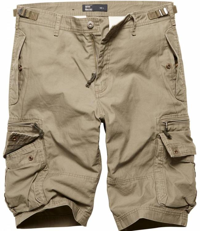 Vintage Industries Gandor Shorts Korte broek Olive