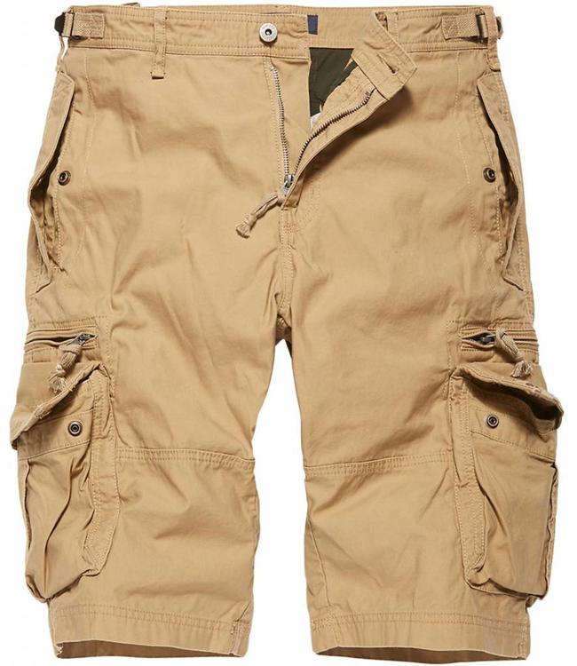Vintage Industries Gandor Shorts Korte broek Safari