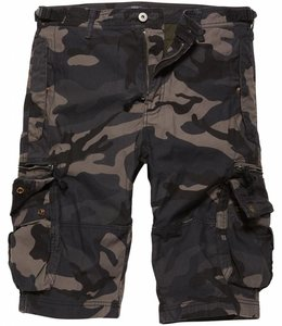 Vintage Industries Gandor Shorts Korte broek Dark camo