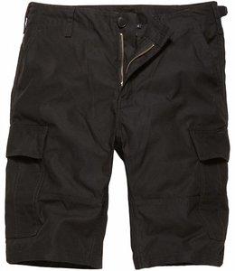 Vintage Industries BDU T/C shorts Korte broek black