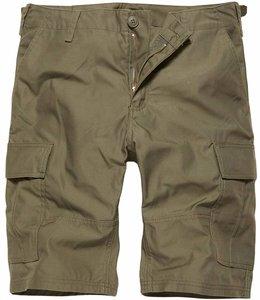 Vintage Industries BDU T/C shorts Korte broek olive