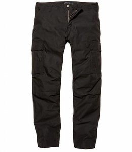 Vintage Industries Owen pants Beveiliging security Cargo broek black