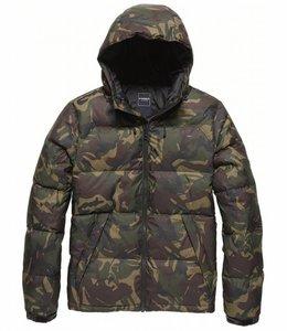Vintage Industries Murray jacket Winterjas camo