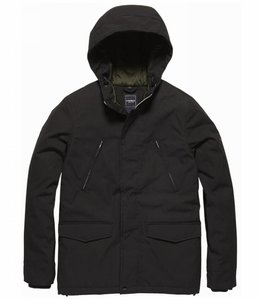 Vintage Industries Tavis parka Winterjas black