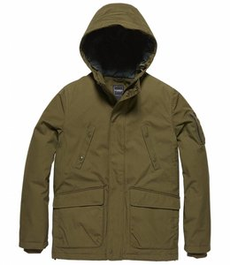Vintage Industries Fairford parka Winterjas drab