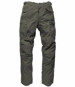 Vintage Industries M65 ripstop pants olive cargo broek