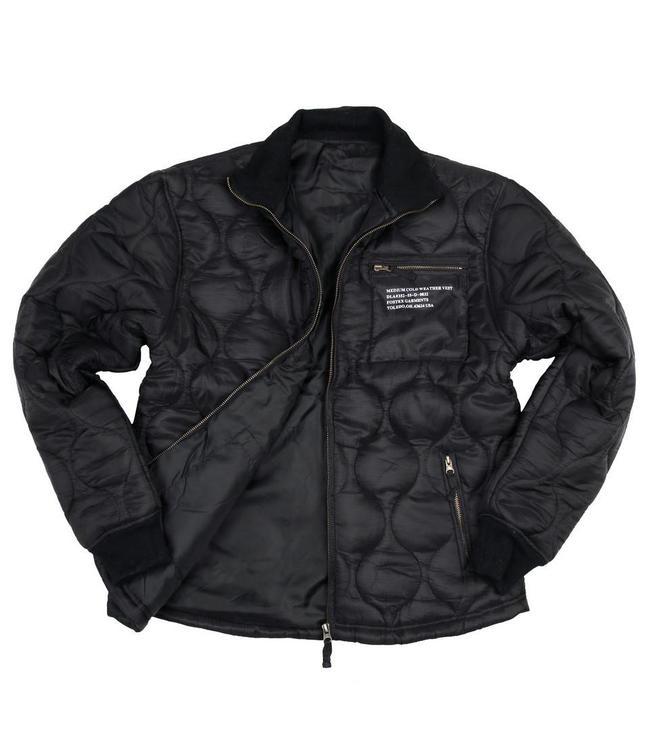 Cold weather jacket isojas Zwart