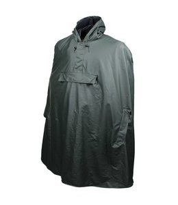 Greenlands Poncho regencape CL-5 army