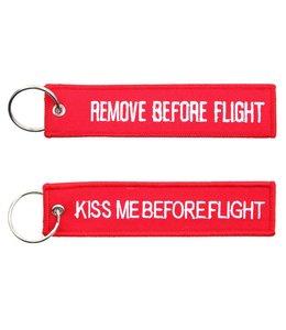 Sleutelhanger Remove before flight + Kiss me before flight Misc.