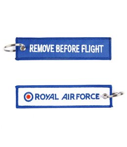 Sleutelhanger Remove before flight + Royal Airforce Misc.