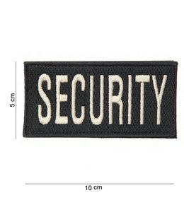 Embleem (patch) security (fat) Zwart