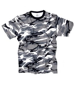 T-shirt camo urban