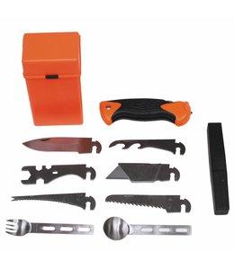 Combat Survival Kit, SPECIAL, 27 pcs, oranje box