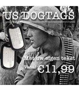 US Dogtags set met eigen tekst