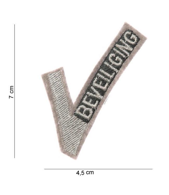 Embleem (patch) Beveiligings V'tje Stof