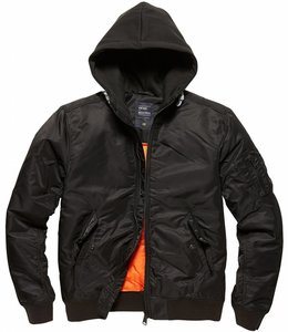 Vintage Industries Westend bomberjacket Winterjas black (black)