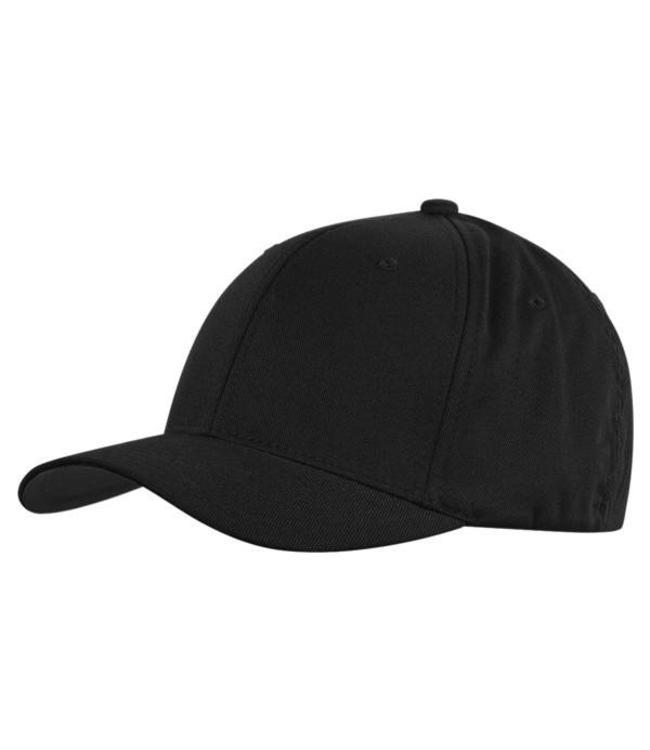 Flexfit Wooley combed Cap volledig zwarte passende pet
