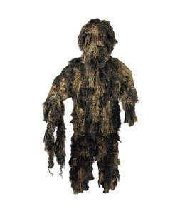 Ghillie Suit, woodland camouflage