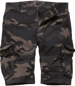 Vintage Industries Rowing shorts dark camo