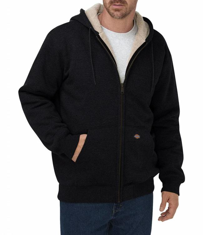 Dickies Sherpa fleece sweater jack Black
