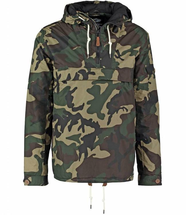 Dickies Milford anorak winterjas Camouflage