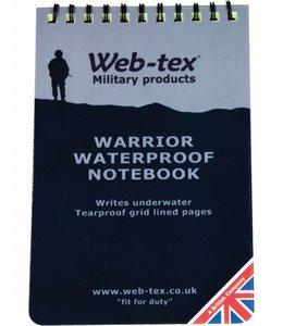 Waterproof notitieboekje 10x15 cm