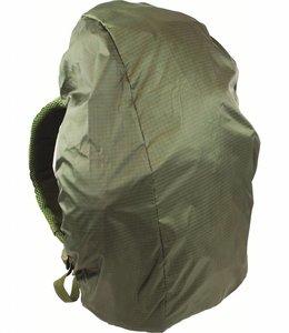 Highlander Regenhoes rugzak cover 40-50 liter Groen