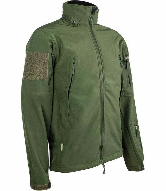 Highlander Tactical softshell jacket (Waterafstotend) Olive