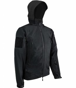 Highlander Tactical softshell jacket (waterafstotend) Zwart