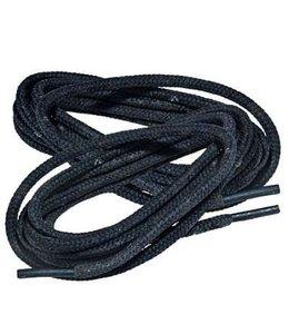 Schoenveters voor Legerkisten 160 cm 100% polyester Zwart