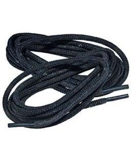 Schoenveters voor Legerkisten kistveters 160 cm 100% polyester Zwart