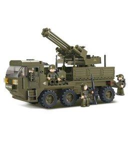 Sluban bouwstenen Heavy transport M38-B0302
