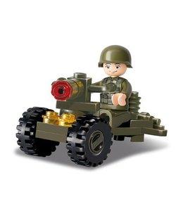 Sluban bouwstenen Soldier M38-B0118