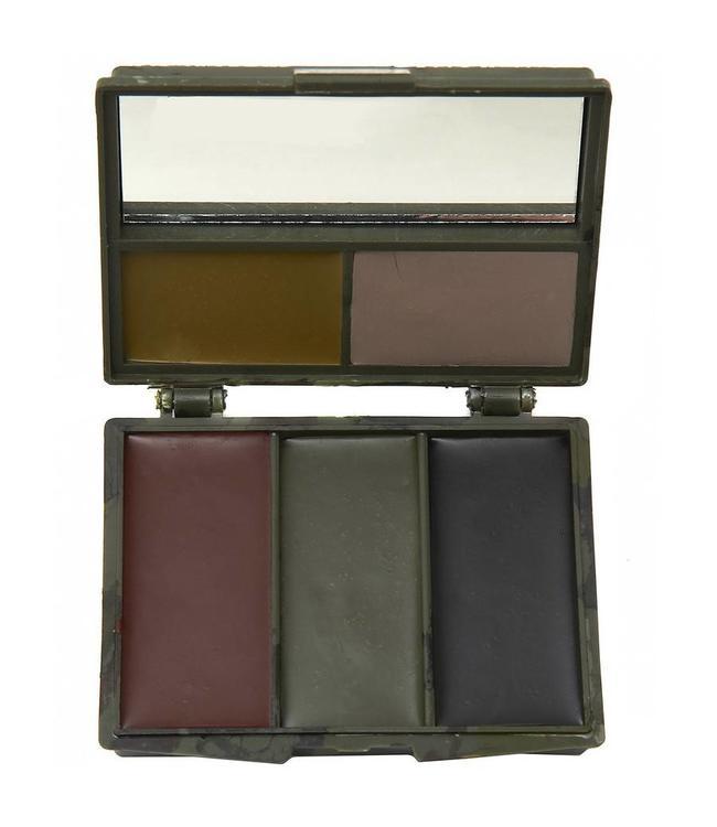Legerkleuren schmink 5-kleuren