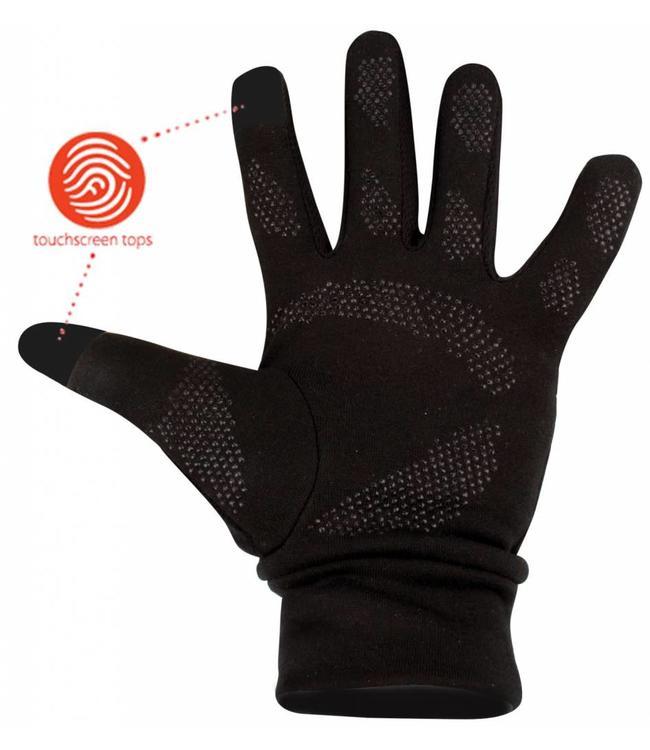 Sporthandschoenen met touchscreen vingertoppen