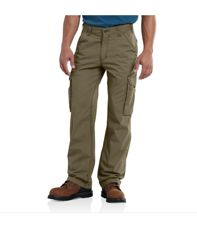 Carhartt Workwear 'Force' Tappen cargo broek Burnt Olive