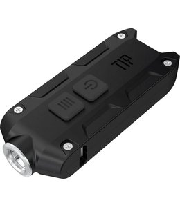 Nitecore Tip Zwart mini led-zaklamp 360 lumens