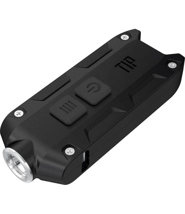Nitecore Tip Zwart mini led-zaklamp 360 lumens