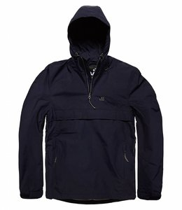 Vintage Industries Shooter anorak zomerjas navy