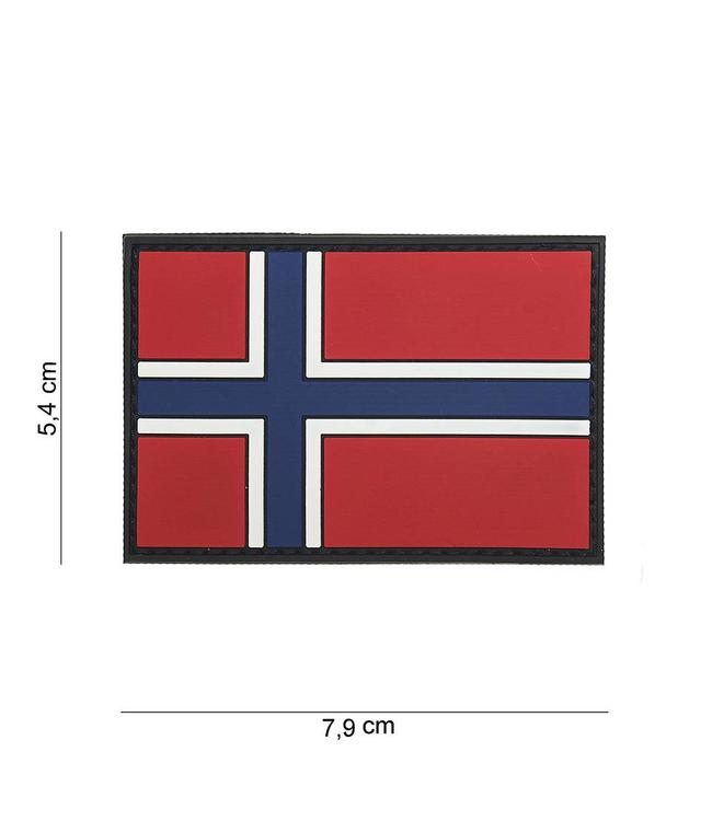 Embleem (patch) 3D PVC Norway