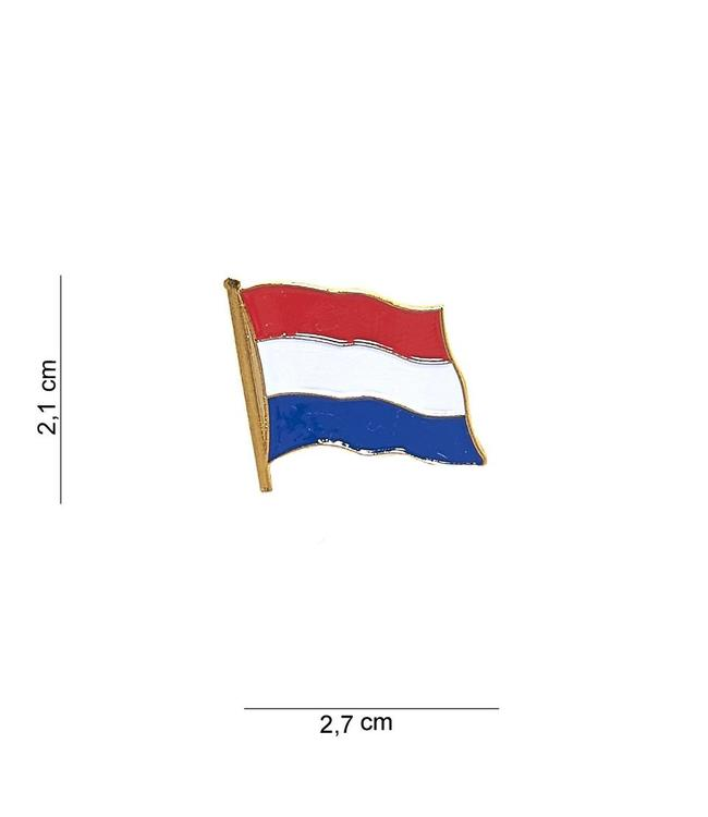 Metalen Pin Nederlandse Vlag