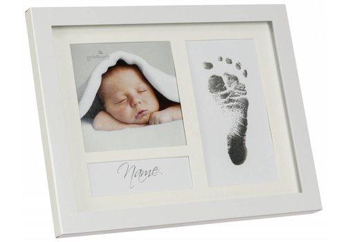 3D Hand Design® First Steps Voetafdruk metalen frame met Magic Footprint Speciale Set