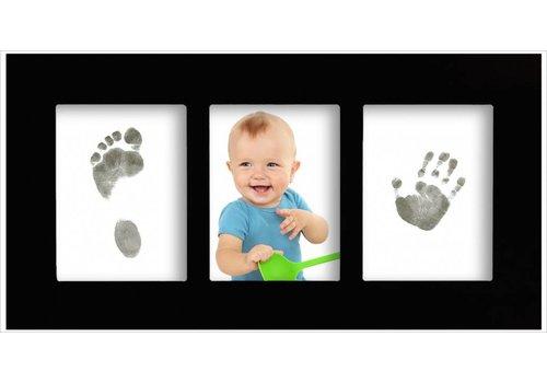 3D Hand Design® Baby gallery frame met Magic Footprints afdrukset