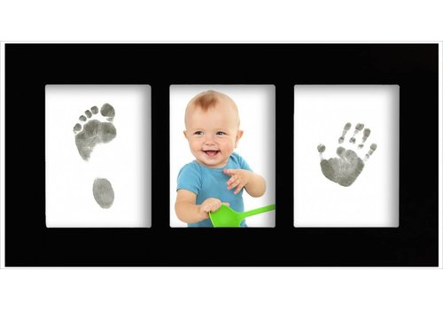 3D Hand Design® Baby Gallery Frame with Magic Footprints Special Set