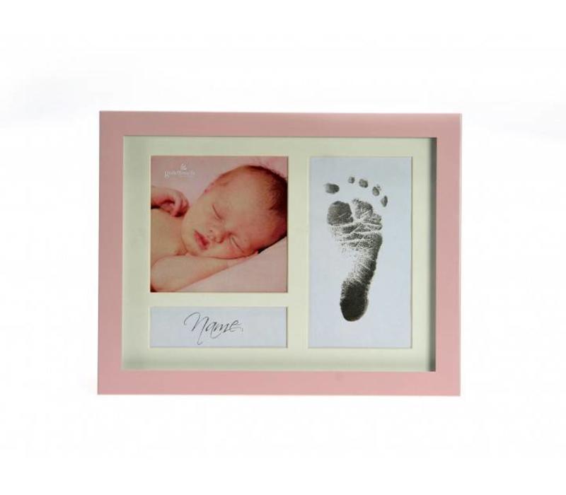 First Steps Footprint Metallrahmen mit Magic Footprint® Abdruckset