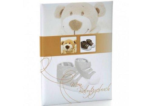 """Goldbuch Babytagebuch """"Trendbär"""""""